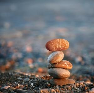 iStock stacked stones