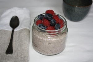 Overnight Berry Chia Parfait